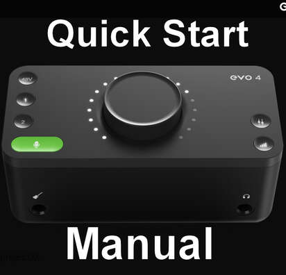Audient Audient  Evo 4 Manual