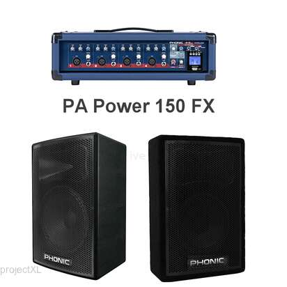 Phonic Phonic  PA Power 150 FX