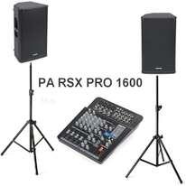 PA RSX PRO 1600 Samson