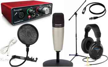 Focusrite Focusrite  Scarlett C01 Vocal Set