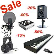 Studio Equipment Sale