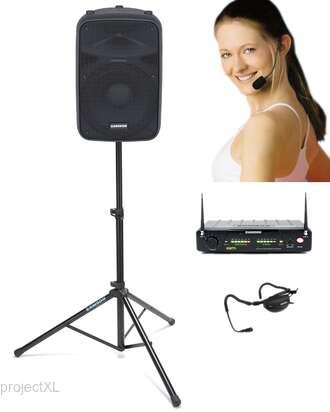 X12 Aerobic Speaker System Samson